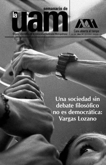 Vargas Lozano - UAM. Comunicación Social