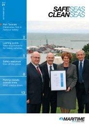 Safe Seas Clean Seas September 2007 - Maritime New Zealand