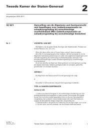 voorstel van wet - Eerste Kamer der Staten-Generaal