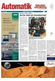 AUTOMATIK 2004 - Teknik og Viden