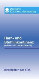 Harn- Und Stuhlinkontinenz