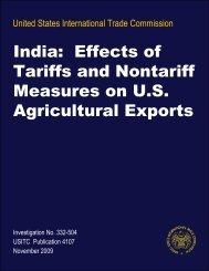 United States International Trade - USITC