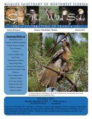 NEWSLETTER Summer 11 - Wildlife Sanctuary of Northwest Florida