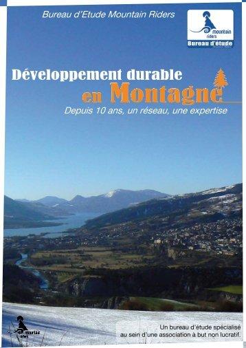 Développement durable - Mountain Riders