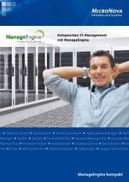 ManageEngine kompakt