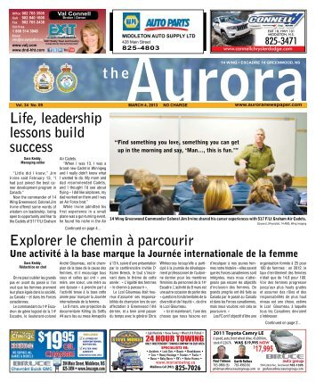 Mar 4 2013 - The Aurora Newspaper