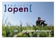 """po[ - """"Excellent Developers"""" - Project Open"""