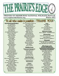 To all who make it possible – THANK YOU! - Friends of Sherburne ...