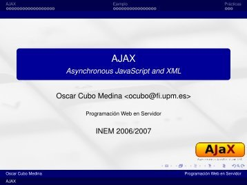 AJAX - Asynchronous JavaScript and XML