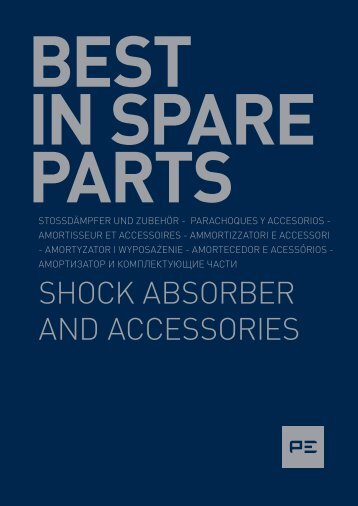 SHOCK ABSORBER AND ACCESSORIES - OLMOSDON