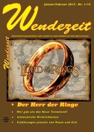 Wendezeit 1/15 - Herr der Ringe