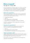 Köra moped? Nya regler från 1 oktober 2009 - Transportstyrelsen - Page 2