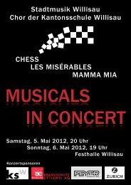 CHESS LES MISÉRABLES MAMMA MIA