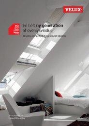 En helt ny generation af ovenlysvinduer - Velux