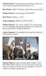 Marilyn Monroe - BrokenArtGallery.com