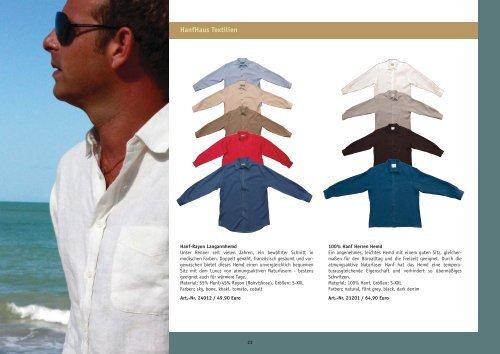 HanfHaus Katalog 2009/2010