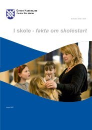 I skole - fakta om skolestart - Greve Kommune