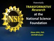 Research at the National Science Foundation - B·Debate