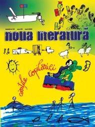 numărul 24 (mai 09) - Noua literatura