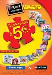 ODR Ravensburger Puzzle à 5 - Remboursement.fr