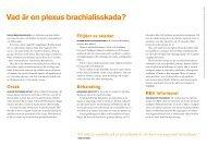 Plexusskada - RBU