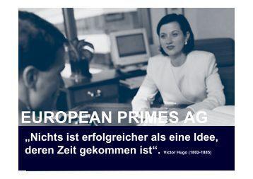 EUROPEAN PRIMES AG - 25-jahre-ghp.de