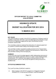 highways update and budget allocation for 2013/14 pdf 72 kb