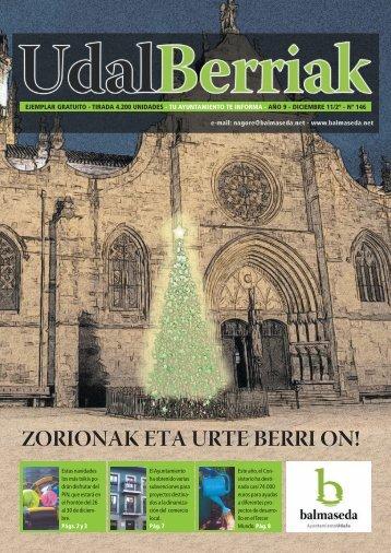 Udalberriak 146-Castellano.pdf - Ayuntamiento de Balmaseda