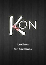 Lexikon für Facebook - KONdoo