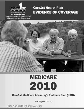 English - Care1st Health Plan
