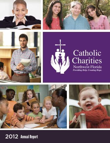 2011-2012 Annual Report - Catholic Charities of Northwest Florida