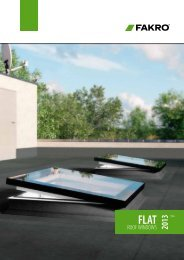 Flat roof - Fakro