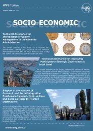 SOCIO-ECONOMIC - WYG