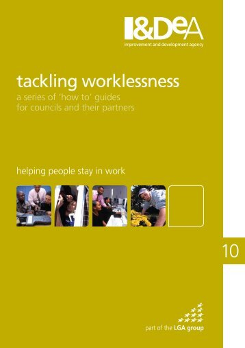 Helping people stay in work - Employability in Scotland