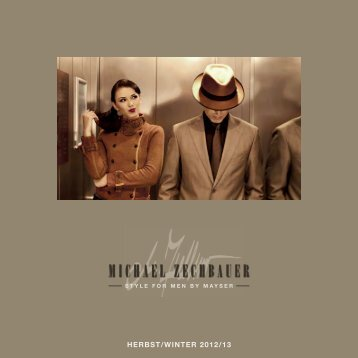 HERBST/WINTER 2012/13 - Michael Zechbauer