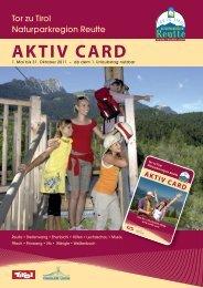 AKTIV CARD - Reutte