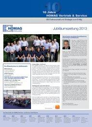 Jubiläumszeitung 2013 - HOMAG Group