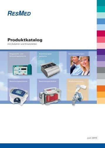 Produktkatalog - ResMed