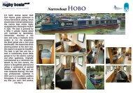 Narrowboat HObO - Rugby Boat Sales