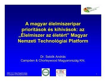 Magyar Nemzeti Technológiai Platform