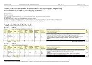 Modulhandbuch - Hochschule für katholische Kirchenmusik ...