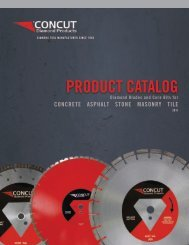 PRODUCT CATALOG - concut inc