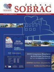 18º edição do Jornal da SOBRAC - Departamentos Científicos ...