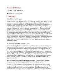 November 2009 Edition November 2009 - Center for Adoption Studies