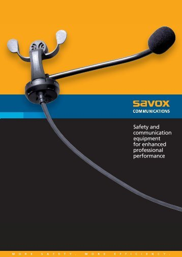 Safety and communication equipment for enhanced ... - Digitech.si