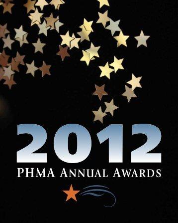 2012 phma awards