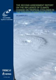 the second assessment report on the influence of climate change on ...