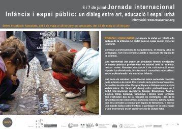 6 i 7 de juliol Jornada internacional - Edizioni Junior