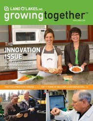 INNOVATION ISSUE - Land O'Lakes Inc.