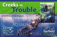 Creeks in Trouble - Fairfield City Council